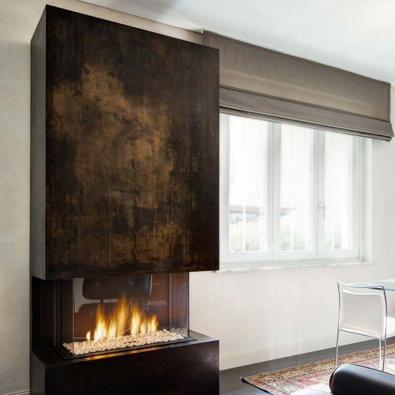 Camino Design Caloris ferro brunito - Toppino Home Design