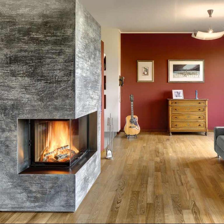 Camino Vulcano argenteo - Toppino Home Design