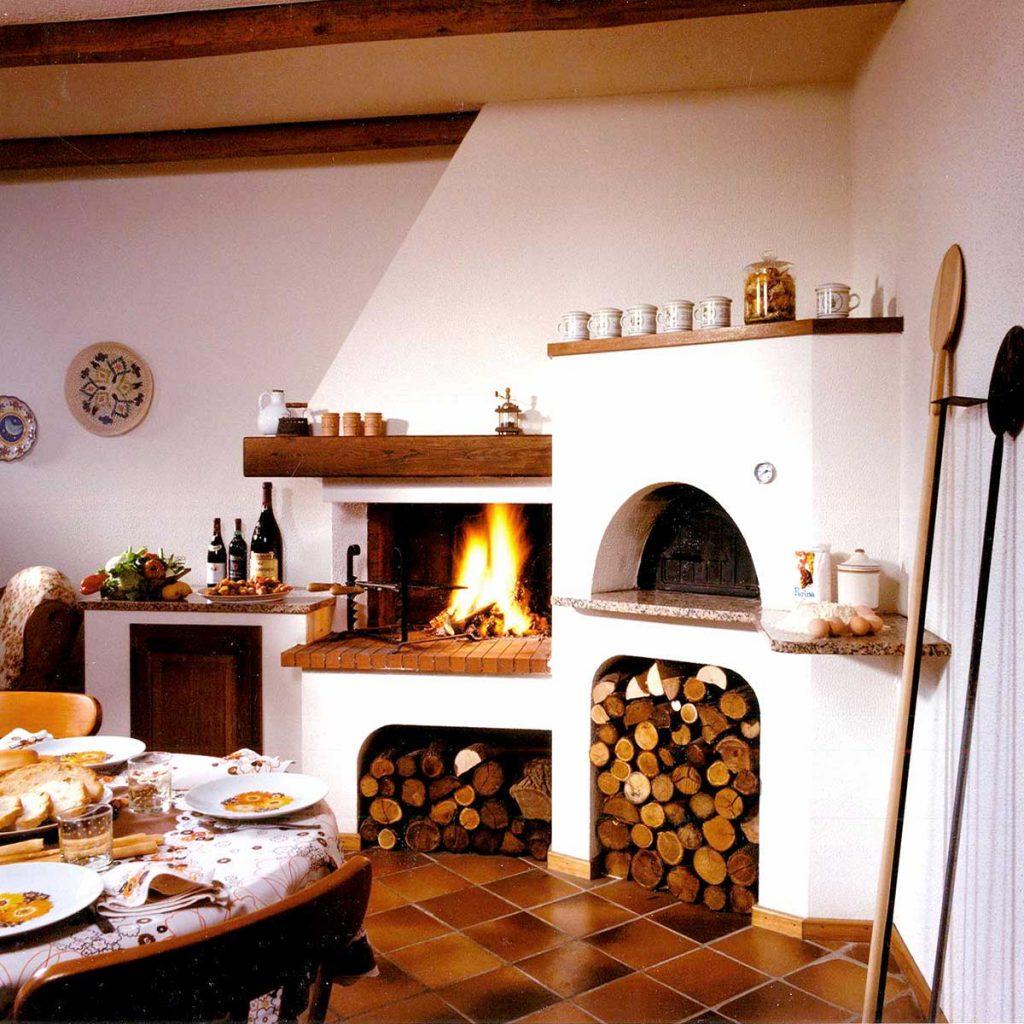 Forno A Legna Con Camino taverne, forni e barbecues - toppino home design